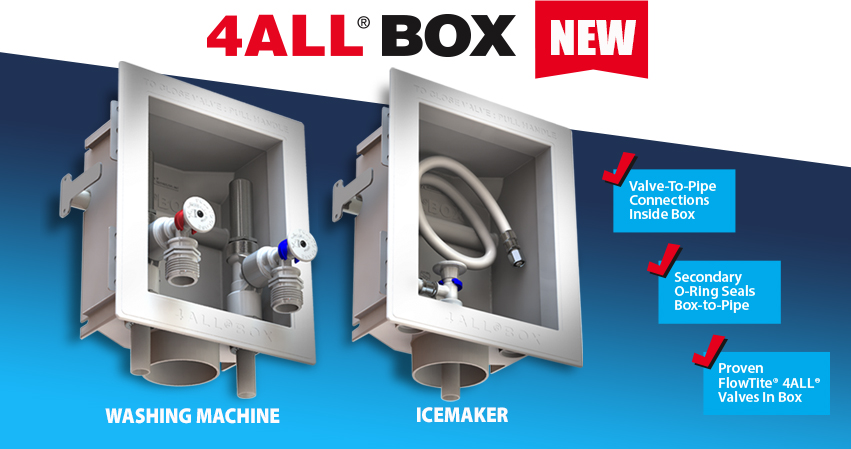 New Product: 4ALL BOX for Washing Machines and Ice Makers