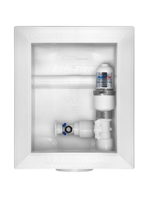 4ALL® BOX for Ice Maker with FlowTite 4ALL Valve and Polymer Arrester
