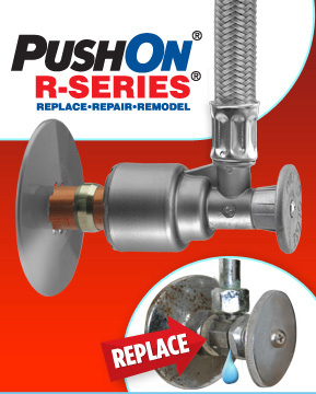 PUSHON R-SERIES Supply Stop Valve