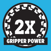 Gripper power - the only valve with twice the holding strength