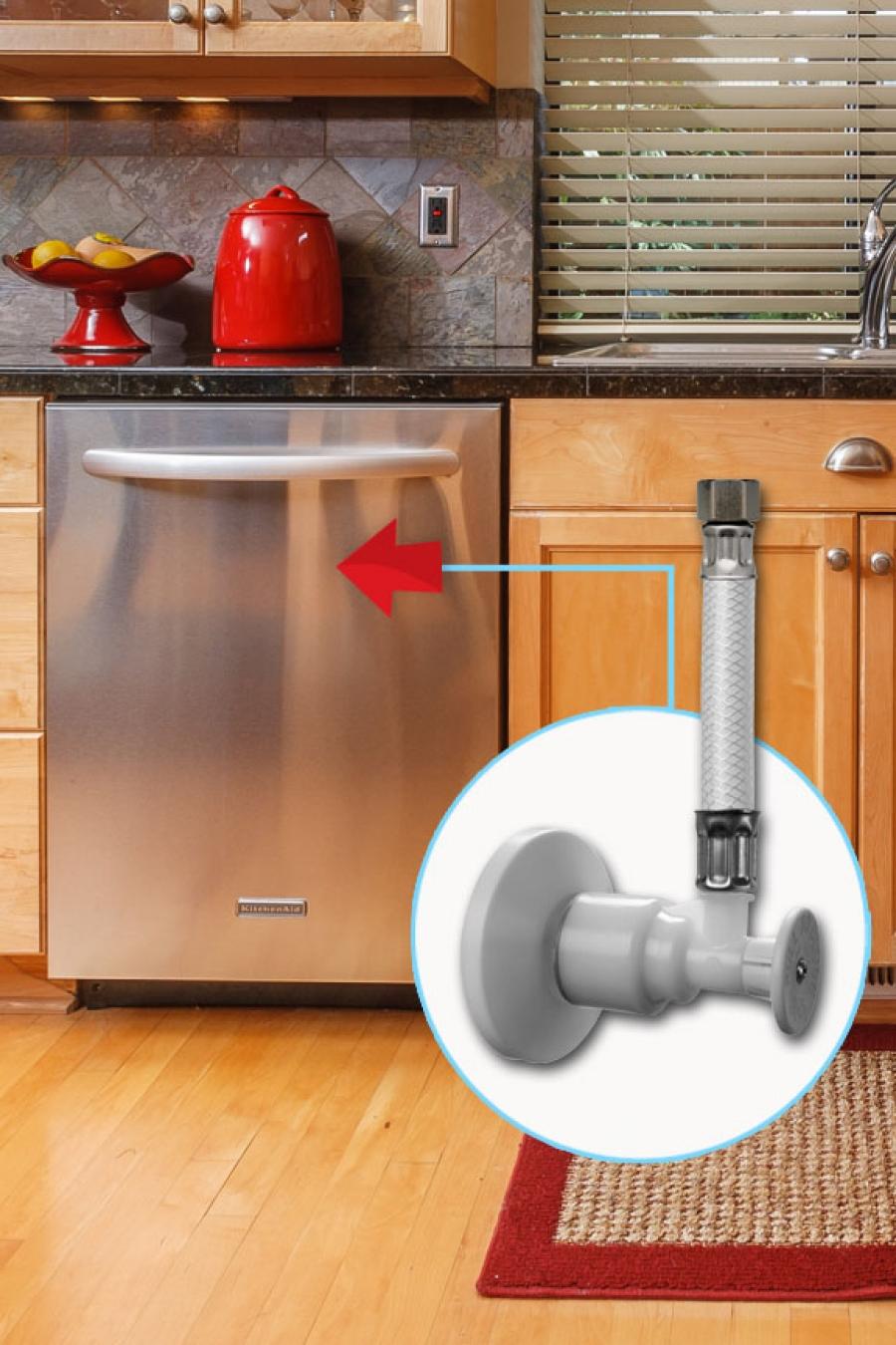 Dishwasher Supply Stop Valves