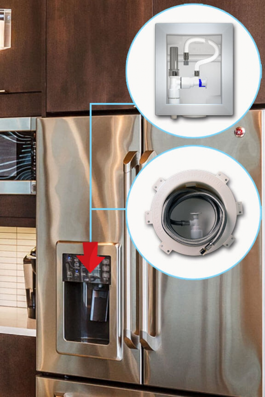 Ice Maker Outlet Box Accor Technology
