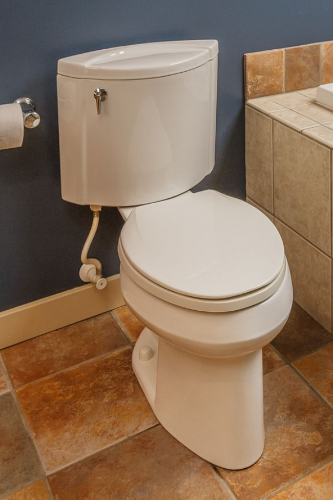 Toilet Rubber Seal Replacement